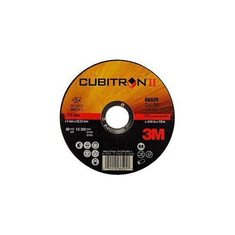 3M™ 65512 Cubitron™ II A60 125 x 1.0 x 22mm