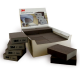 3M™ 63198 Abrasive foam block soft grade A-FIN 100x68x26mm