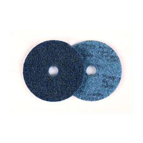 3M™ 60983 SC-DH scheibe A-VFN blau 115mm mit Zentrierbohrung