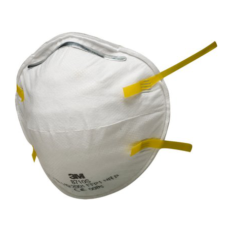 3M™ 8710 - FFP1 Anti guscio maschera antipolvere Classic Series
