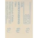 3M™ 72570 IMF 268L sheet 9 micron 230 x 280mm PSA