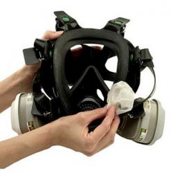 3M™ 105 Reinigungstuch für Maskenkörper 40 pce/box