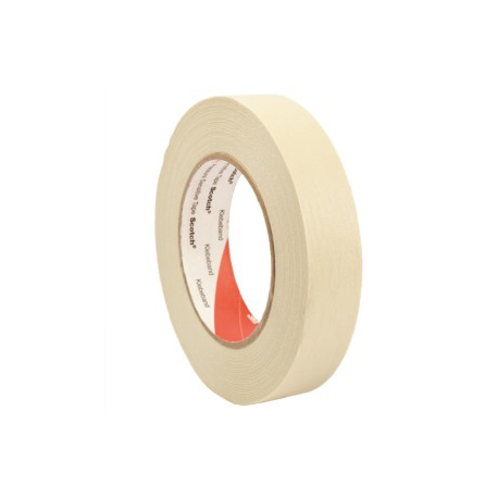 3M™ 2836 Masking Tape haute température 18mmx50m