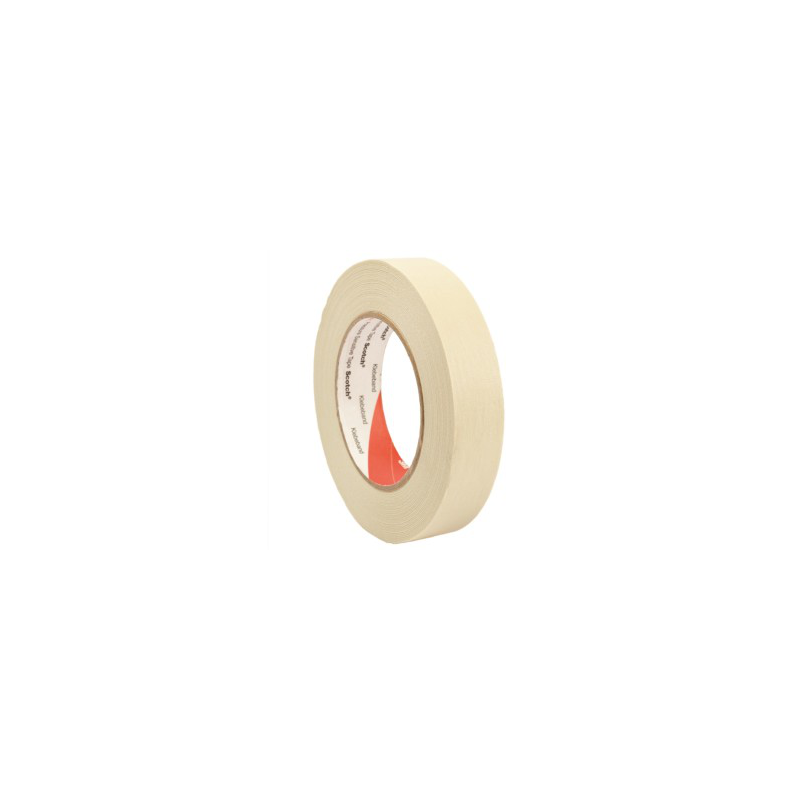 3M™ 2836 Masking Tape high temperature 30mmx50m - Alco Shop