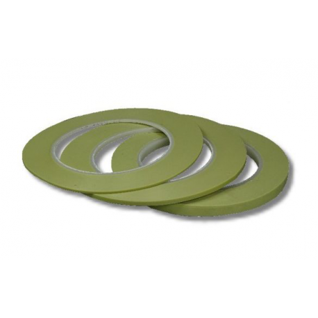3M™ Scotch® 218 Masking Tape Fine Line Green 1,6mmx55m