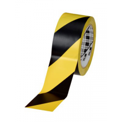 3M™ 766i Vinyle Tape yellow/black 50mmx33m