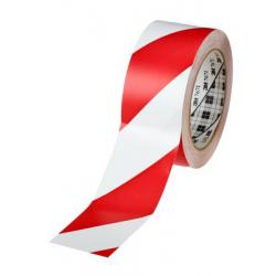 3M™ 766i Vinyle Tape rouge/blanc 50mmx33m