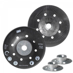 3M™ 09386 Support pad 125mm for fiber discs