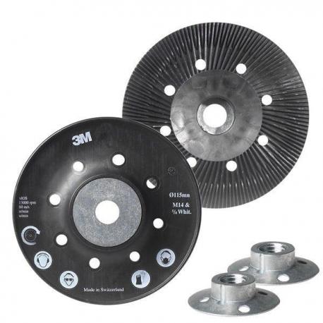 3M™ 09386 Plateau de support 125mm pour disques fibre