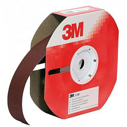 3M™ 62860 314D cloth roll P80 25mmx25m