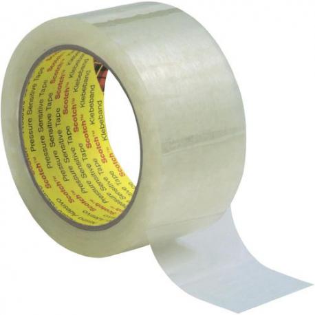 3M™ Scotch® 6890 PVC tape transparent 38mmx66m