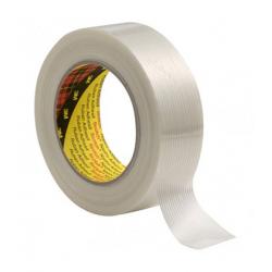 3M™ 8956 Ruban adhésif à filament transparent 25mmx50m