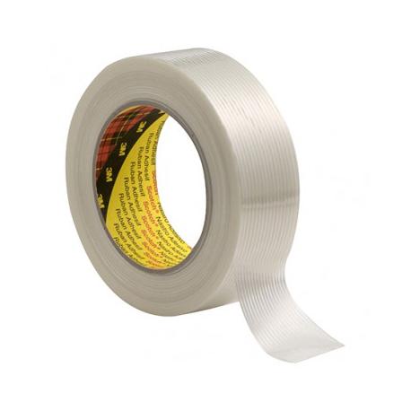 3M™ 8956 Ruban adhésif à filament transparent 19mmx50m