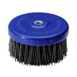 Abrasive disc brush Tynex K120 PE body 130mm T50 M14 thread