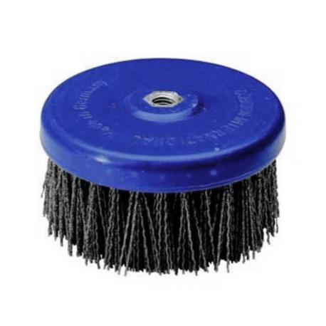 Abrasive disc brush Tynex K80 PE body 130mm T50 M14 thread