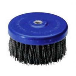 Abrasive disc brush Tynex K60 PE body 130mm T50 M14 thread