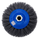 Abrasive radial brush Tynex K80 PE body 140mm T30 M14 thread