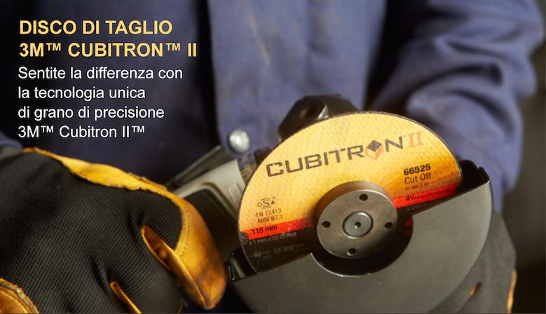 DISCHI DI TAGLIO 3M™ CUBITRON™ II